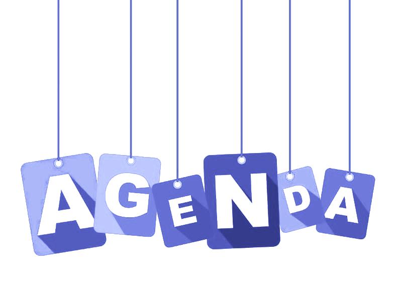 Agenda – April 2021